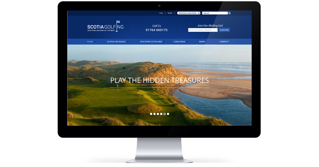 Scotia Golfing Screens